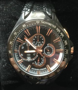Jacques Lemans F1 Chrono Sports F5016 Neupreis 299€ Bild