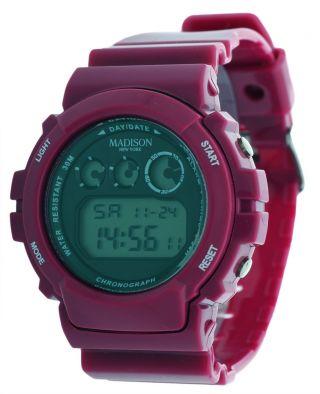 Madison York Unisex Armbanduhr Berry Candy Time Shock U4168by Bild