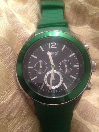 Uhr Von Esprit Grün Top Bild