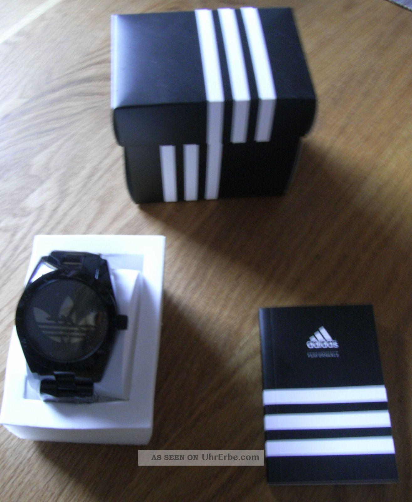 Adidas Uhr Santiago Curitiba Schwarz Armbanduhren Bild