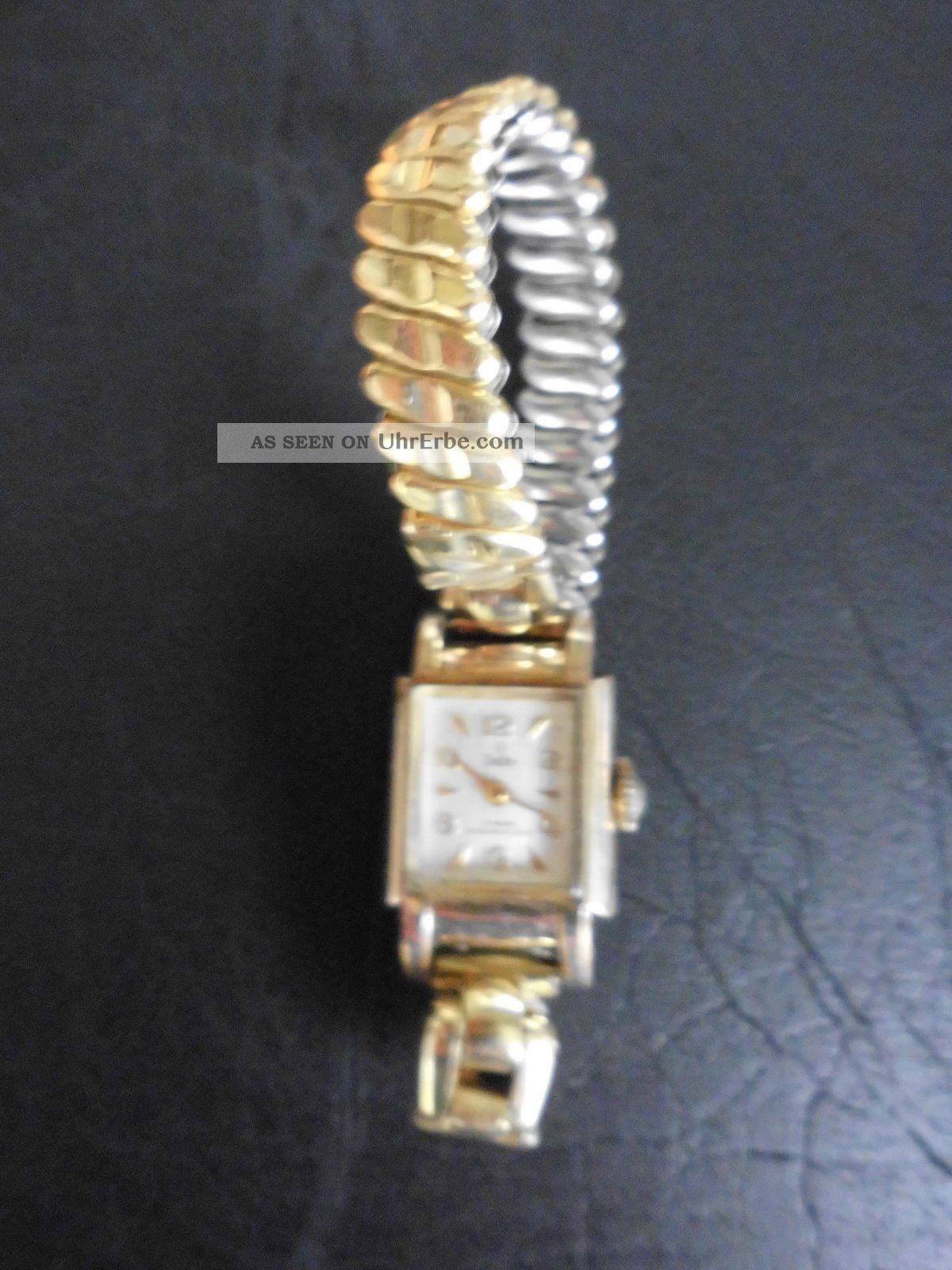 Alte Damenarmbanduhr Zentra Handaufzug Armbanduhren Bild