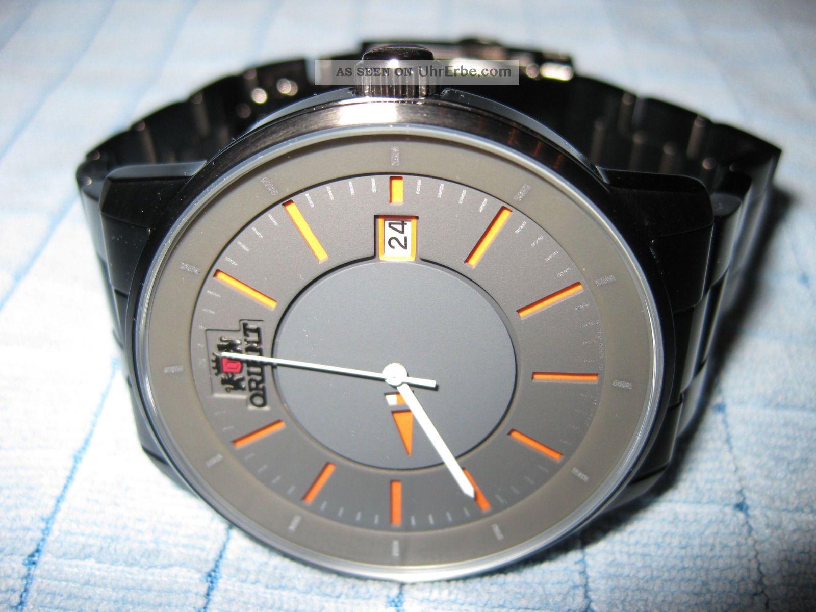 Orient Disk Fer02006a0 Automatik Edelstahl Uhr Aus November 2014 Armbanduhren Bild