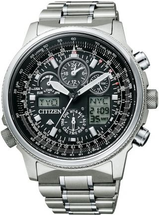 Citizen Promaster Sky Pmv65 - 2271 Eco - Drive Limited Japan Bild