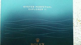 Rolex Explorer 2 Bedienungsanleitung Bild
