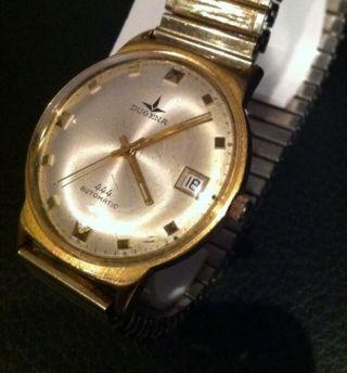 Vintage Herrenarmbanduhr Dugena Automatic Puw 1361 Bild