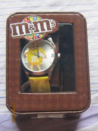 Armbanduhr M&m`s Yellow Bild