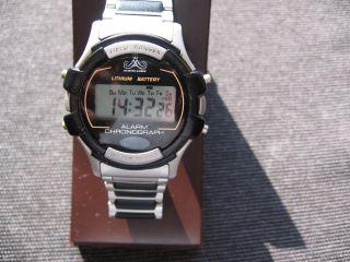Meister Anker Field Ranger Alarm Chronograph Quarz Uhr - Digital, Bild