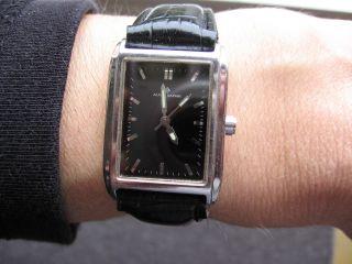 Alpha Saphir Quarz Uhr,  Saphire Glas,  Neues Band Bild