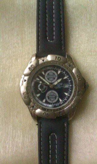Armbanduhr Ascot 30 M Wasser Resistent,  Blau Bild