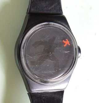 Armbanduhr Mit Kunststoffarmband - Tempo - 80er Jahre Bild