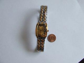 Bellux,  Vergoldete Damenarmbanduhr Bild