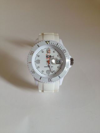 Ice Watch Armbanduhr Weiss So Gut Wie Kaum Getragen Top Bild