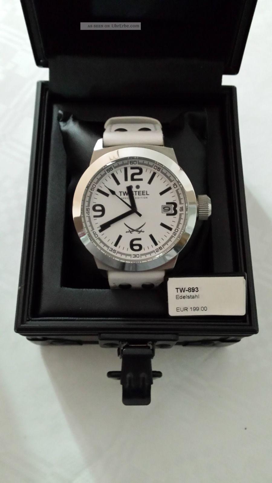 Tw Steel Tw - 893 Mit Ovp Np 199,  - Sansibar Armbanduhren Bild