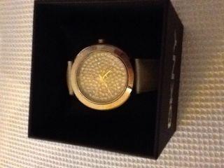 Dkny Donna Karan Uhr,  Gold,  Glitzer,  Ovp Bild