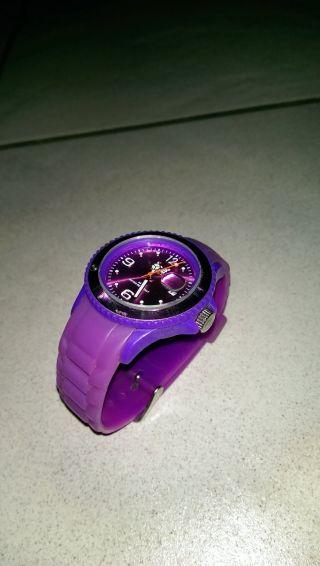 Ice Watch Armbanduhr Unisex Lila Kautschuk Bild