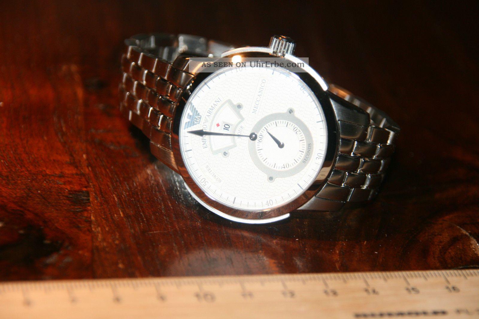 Emporio Armani Herrenarmbanduhr Armbanduhren Bild