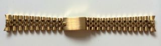 Rolex Jubilé Gmt Submariner Datejust 18 K Gold Armband Bracelet 20mm Bild