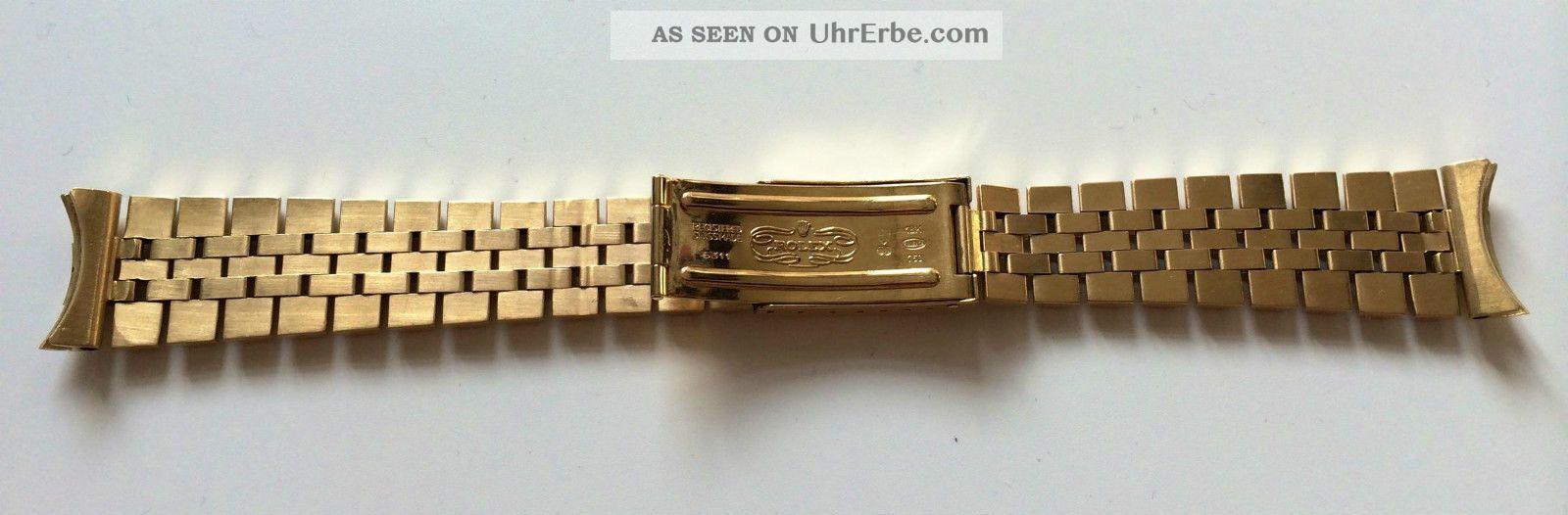 rolex jubil gmt submariner datejust 18 k gold armband. Black Bedroom Furniture Sets. Home Design Ideas
