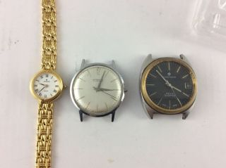 Konvolut Junghans Uhren Rare Astra Modell M.  A.  N.  Top Bild