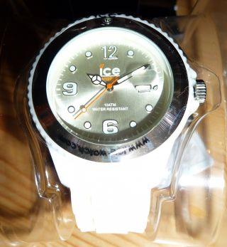 Weihnachtsgeschenk Quartzuhr Ice Watch - Chocolate Big,  Weiß Ovp Bild
