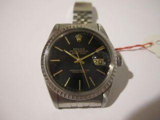 Rolex Oyster Perpetual Datejust Ref.  16014 Cal.  3035 Neuzustand Top Bild
