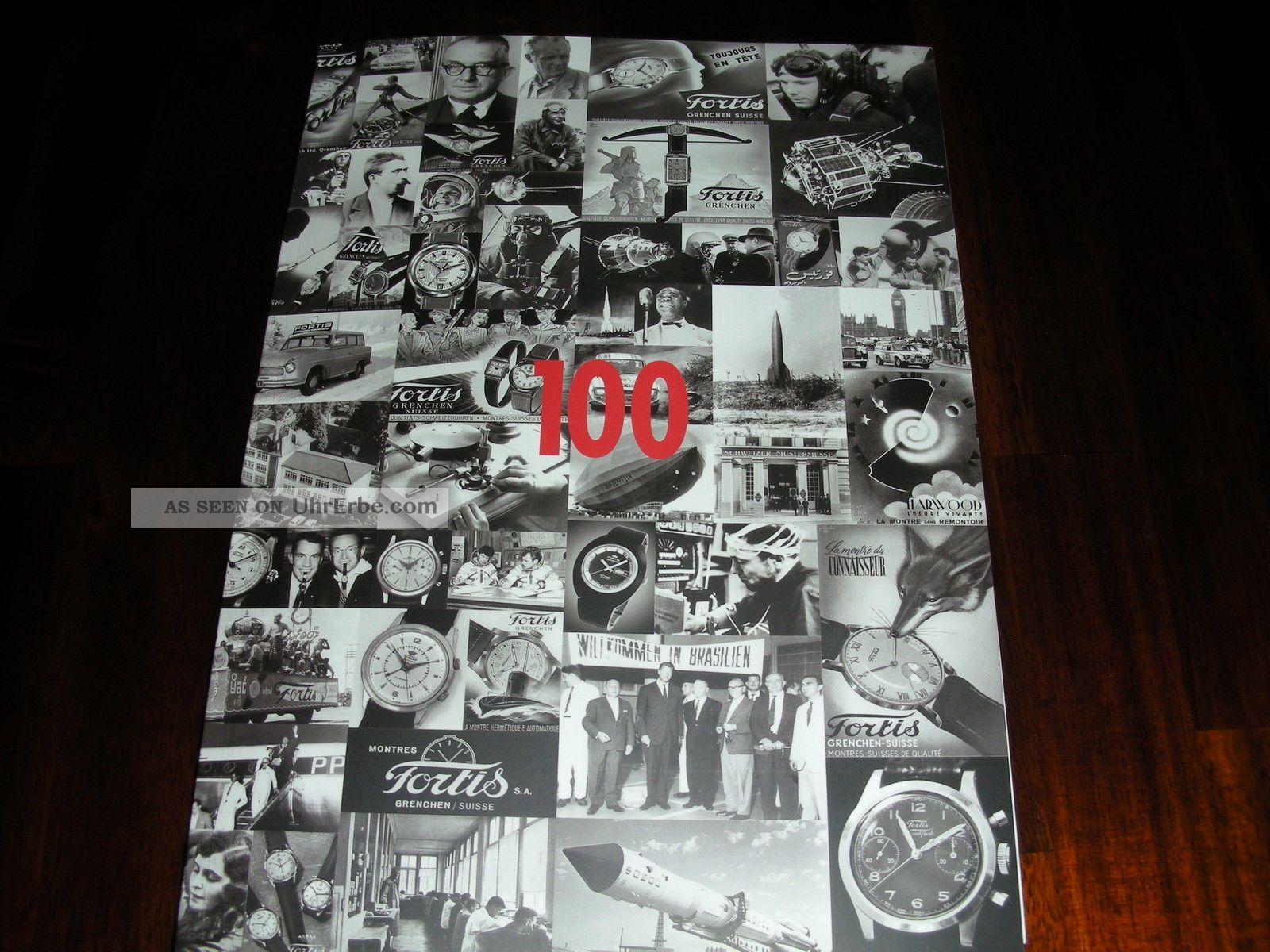 Fortis 100 Jahre Premium Buch (mit Preisliste),  Fortis SchlÜsselanhÄnger Armbanduhren Bild