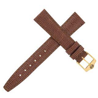 Gucci Braun Cognac Eidechse Leder 14mm Watch Teil Band Bild