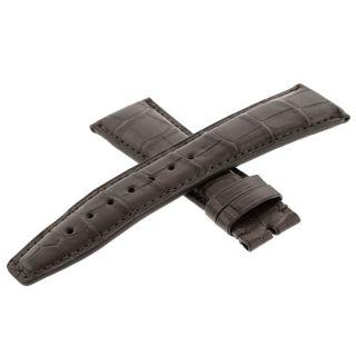 Uhren Band Iwc 32071 Braun Alligator Echtleder 22 - 18mm Bild