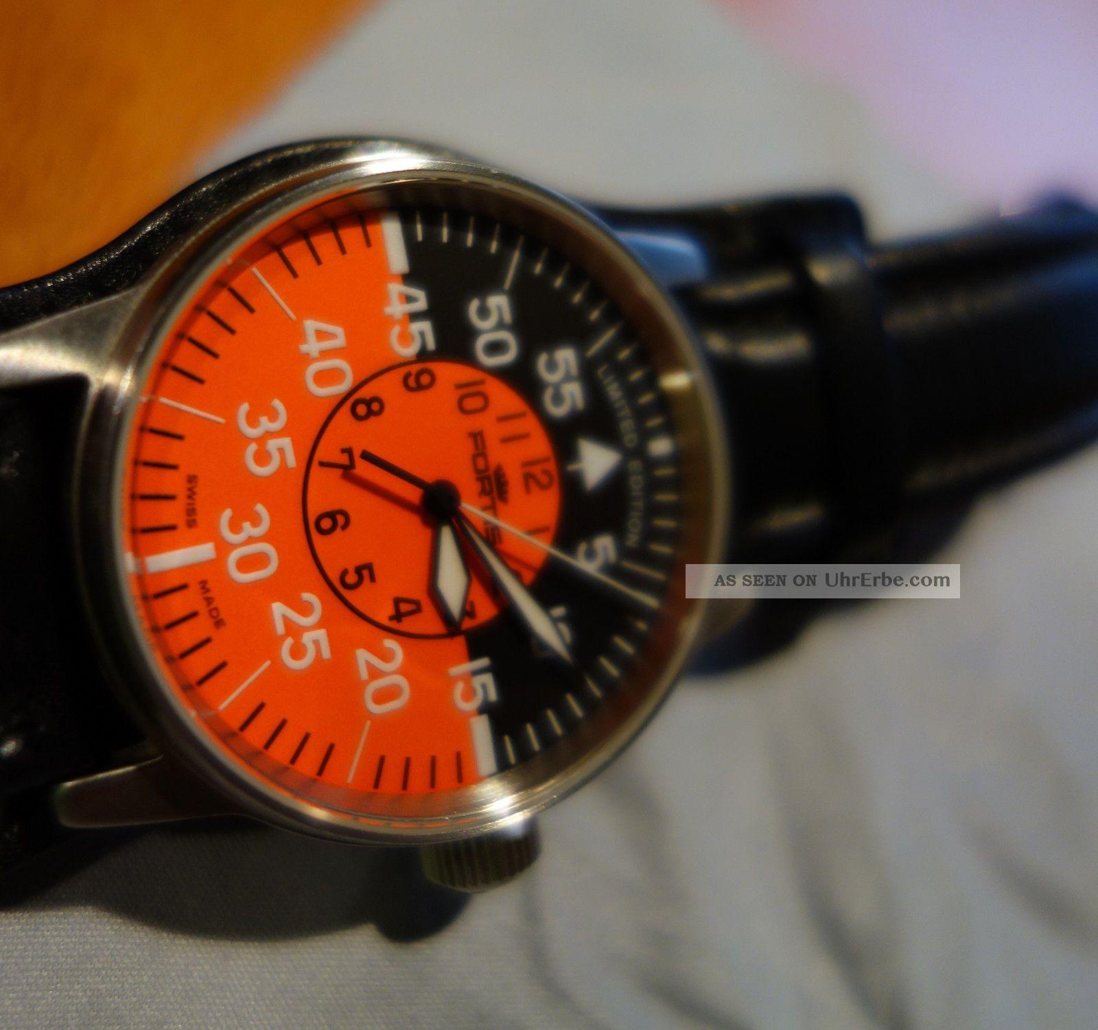 Fortis Flieger Cockpit Limited Edition Nur 950 St Armbanduhren Bild