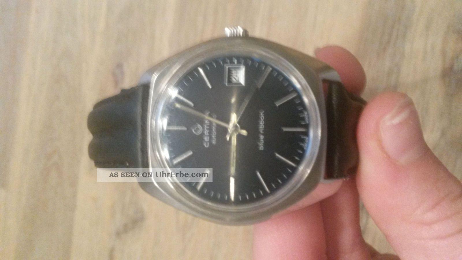 Certina Blue Ribbon,  Volvo Armbanduhren Bild