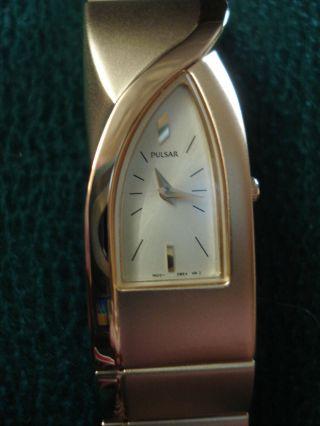 Schöne Armbanduhr Pulsar Ungetragen Batterie Muß Erneuert Werden Bild