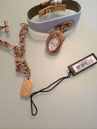Cerruti Uhr Rose Gold Weiss Mit Armband Bild