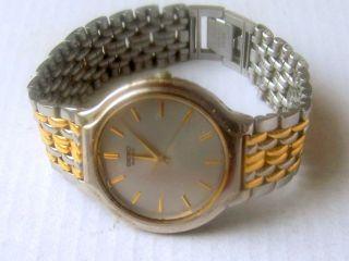 Seiko Quarz Armbanduhr Bild