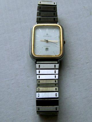 Junghans - Armbanduhr - Bicolor - Quarz - Selten Bild
