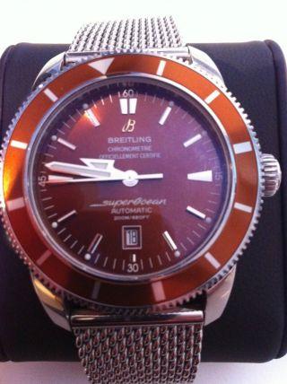 Breitling Superocean Heritage 46 Box&papiere Bild