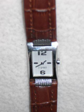 Esprit Armbanduhr Braun/ Silber Bild