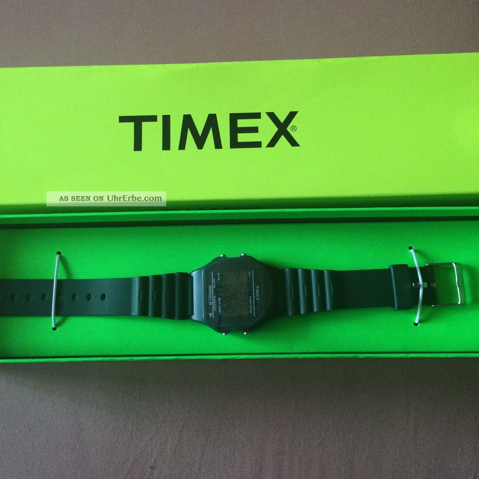 Timex Uhr Grün Uni Armbanduhren Bild