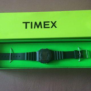 Timex Uhr Grün Uni Bild