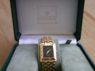 Armbanduhr Gucci Vergoldet Bild