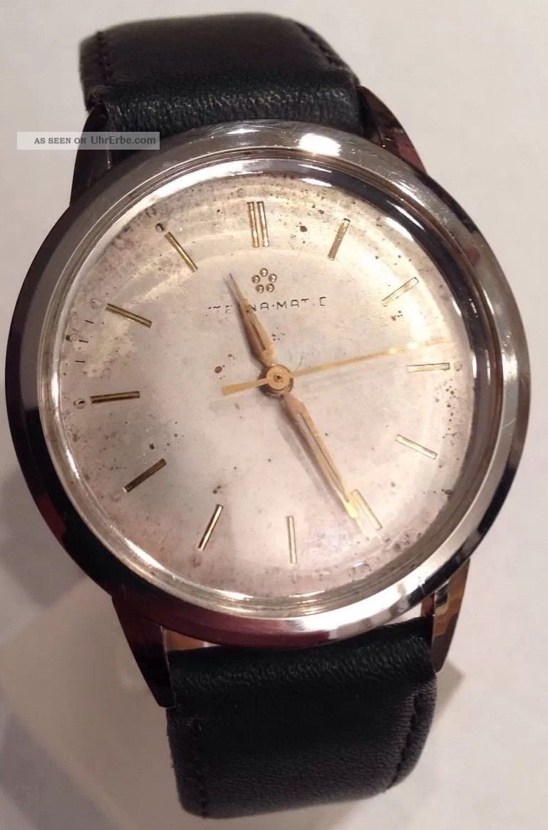 Eterna Matic Eternamatic Herrenarmbanduhr Automatik Armbanduhren Bild
