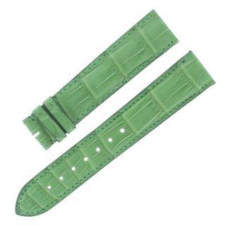 Uhrarmband Cartier Kd18bm01 20 Mm - 18 Mm Matt Grün Alligator Leder Bild
