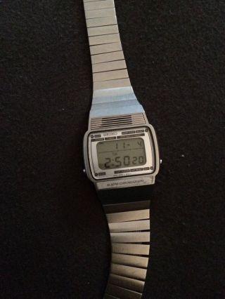 Seiko Vintage Uhr Watch A259 - 5030 Retro Voll Funktionsfähig Bild