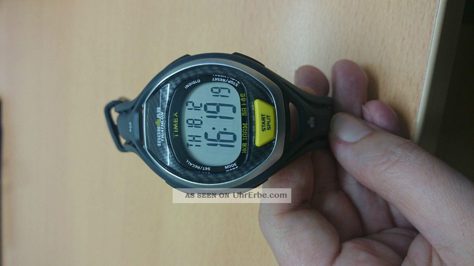 Timex Ironman Triathlon T5k340 - Ungetragen Armbanduhren Bild