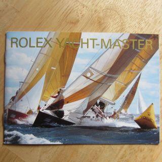 Booklet Rolex Yacht Master 11.  2004 Bild