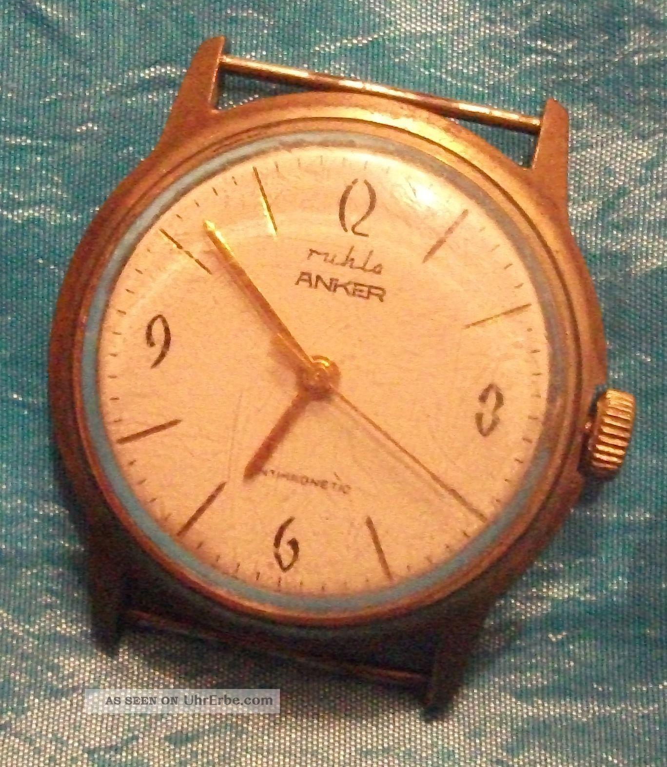 Ruhlo Anker Herrenarmbanduhr Handaufzug Armbanduhren Bild