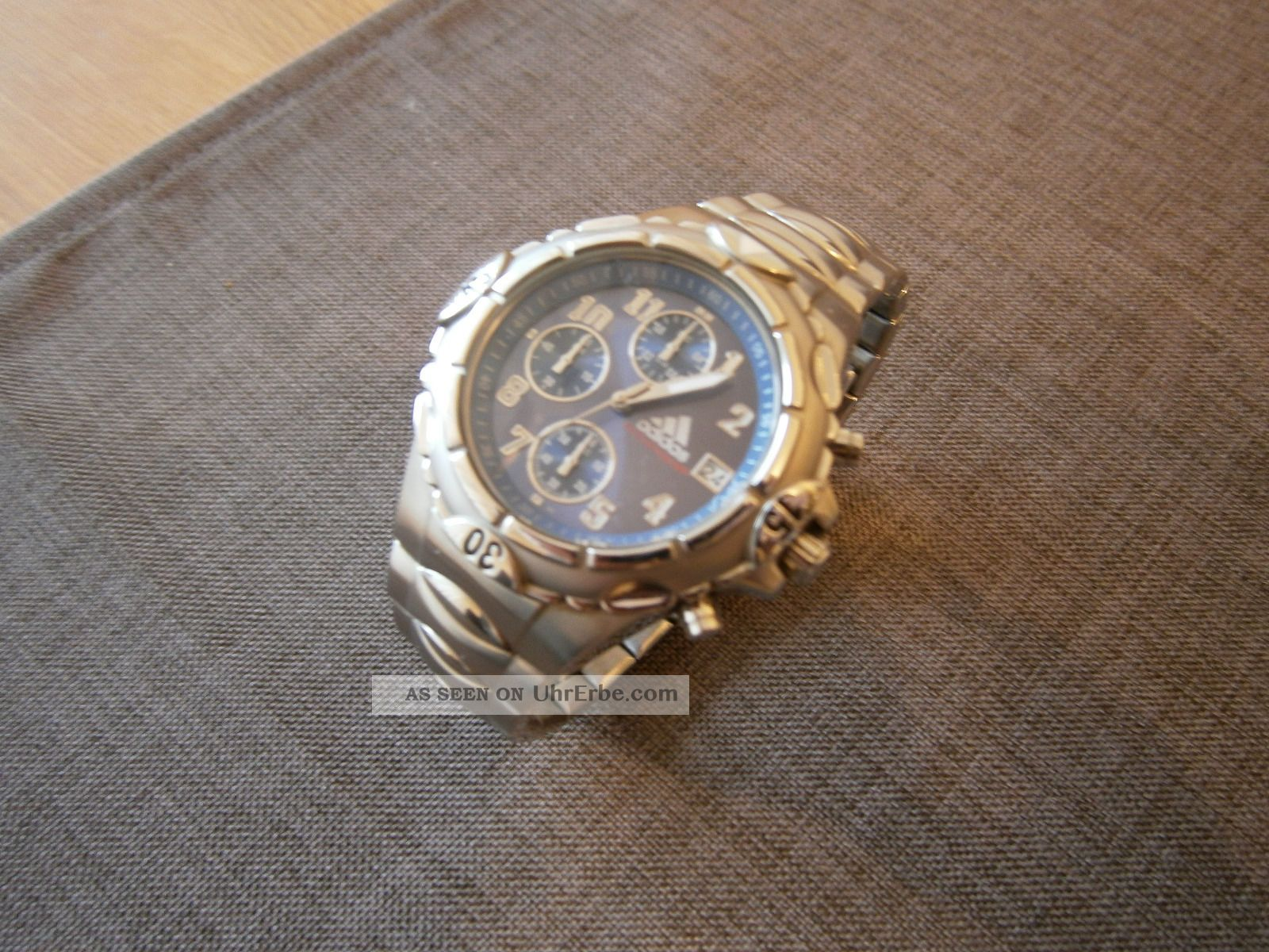 Adidas Vs Chronograph Titanium Armbanduhren Bild