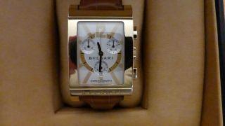 Bulgari Rettangelo Chronograph 18 Kt Gold Bild