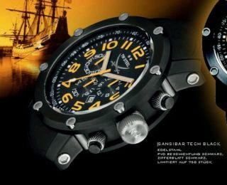 Tw Steel Tw 824 Tech Black Orange - Limited Edition Sansibar Top Bild