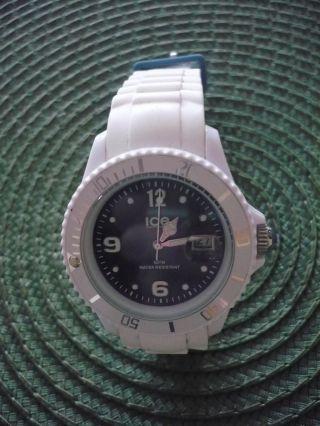 Ice Watch Sl.  Wj.  Us.  10 Blau / Weiss,  Wenig Getragen Bild