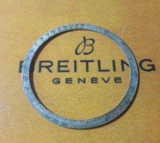 Breitling Navitimer 806/809 InnenlÜnette Von 1968 Sehr Selten Bild